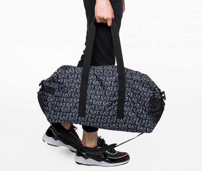a81e3217 Спортивная сумка ARMANI (245010-8P804) UNISEX DUFFLE'18 00020-NERO ...