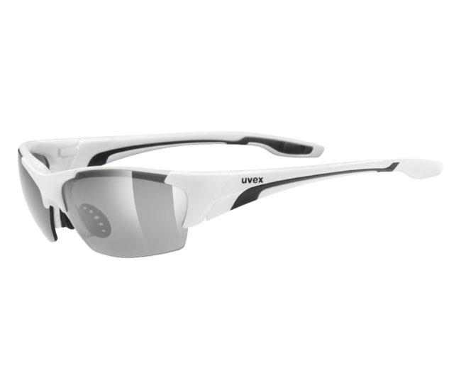 Велосипедні окуляри UVEX blaze lll 2017 white black купити у Києві ... ad3fd12073d29