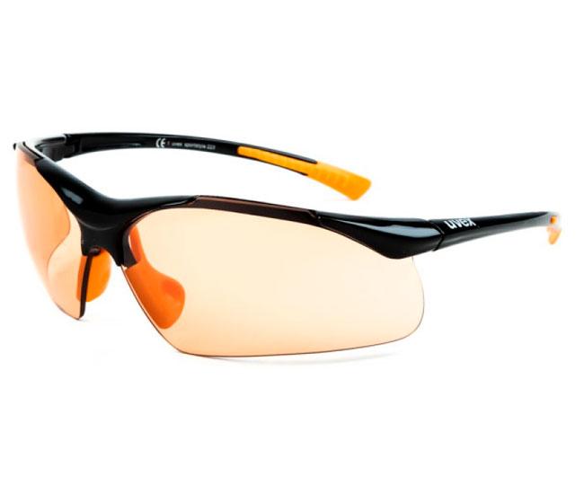 Очки для активного спорта UVEX sportstyle 223 2018 black orange ... 2dda1cb5e9874