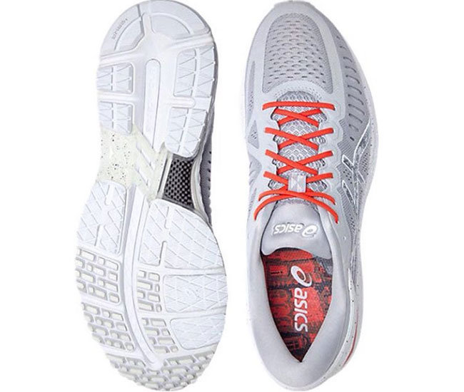 Кросівки для бігу Asics (T748N) MetaRun 9623-CONCRETE GREY SHU RED ... 4bbcc3263aae2