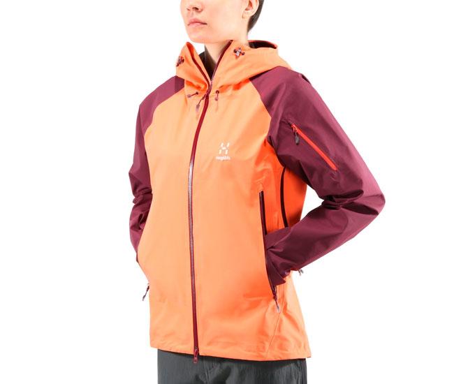 Куртка для туризму Haglofs Roc Spirit Jacket Women 2018 Coral Pink ... d875f4783345d