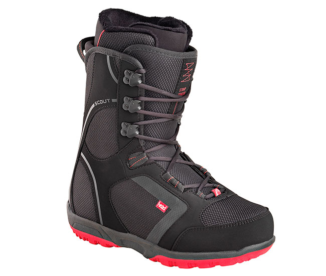 шнуровка сноубордического ботинка