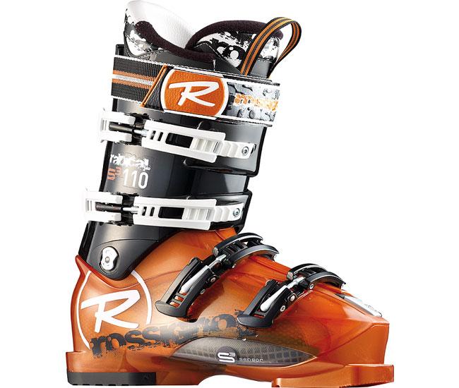 Ботинки для горных лыж жесткие