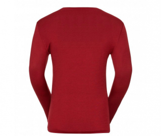 (110612) Shirt l/s crew neck NATURAL 100% MERINO'18