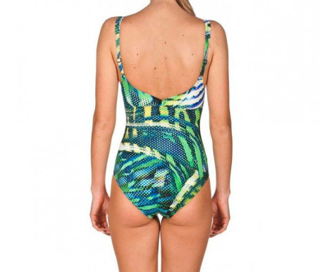( 000692-751 ) W DEMI WING BACK ONE PIECE C-C 2018