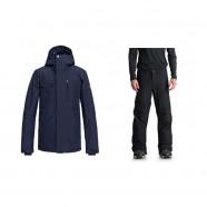 Сноубордичний комплект Quiksilver штаны ESTATE SHORT P + Куртка MISSION  SOLI JK 53de55ccc69c0
