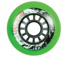 Для роликов POWERSLIDE HURRICANE Wheels, green, 4-Pack 72 2016