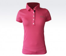 Футболка для тенниса ARMANI 283750-5P235 WOMEN'S KNIT POLO'15