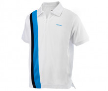Поло для тенниса HEAD Club Baddley JR Poloshirt Zip 2013