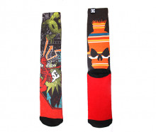 Носки городские DC SINGLE DC CREW SKATE PUNK SOCK 2015