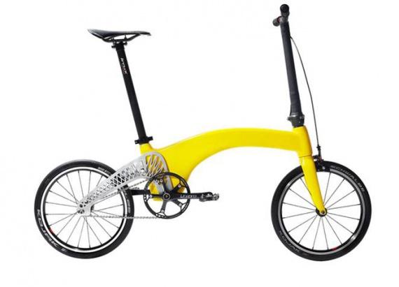 Складаний міський велосипед